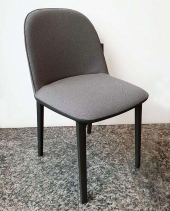 Stuhl_Softshell Side Chair_Stoff_grau-schwarz_Sonderpreis368_Lukaszewitz